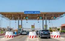 Sénégal: l'autoroute à péage envahie par des manifestants, des agents prennent la fuite