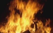 Incendie au marché Grand Dakar