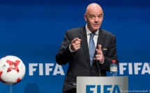"Gianni Infantino: ""le football va contribuer à nous rassembler"""