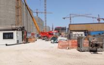 Unité de traitement de gaz: un brise-lame de près d'1 km de long composé de 21 caissons en cours de réalisation