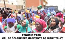 Plusieurs mois de pénurie d'eau: très en colère, les habitants de Niary Tally barrent la circulation