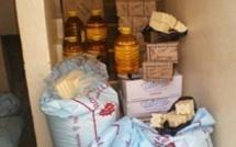 Fatick : 4,6 tonnes de riz, 1,7 tonnes de sucre et 100 litres d'huile saisis par le service du commerce pour faire respecter les prix homologués