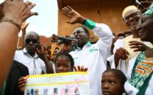 En images : Derniers instants de campagne au Mali
