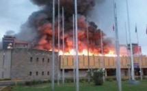 Au Kenya, grave incendie à l'aéroport Jomo Kenyatta de Nairobi