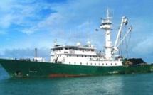 crainte de pollution après l'échouement d'un navire espagnol