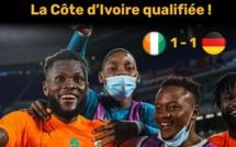JO: la Côte d'Ivoire élimine l'Allemagne et décroche son billet pour 1/4 de finale