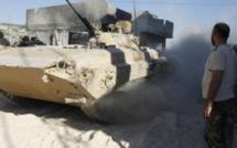 Syrie: le quartier de Moadamia au sud-ouest de Damas violemment bombardé