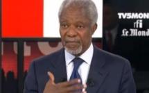Kofi Annan: «Je félicite la France pour ses interventions en Afrique»