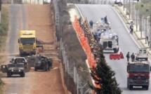 L'armée israélienne riposte à des tirs à la frontière du Liban