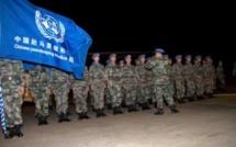 Mali: renfort de soldats chinois pour la Minusma