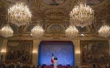 Diplomatie: François Hollande réaffirme les principes de la France