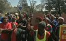 Grève dans les mines de platine d'Afrique du Sud
