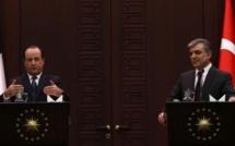Hollande veut relancer les échanges économiques avec la Turquie