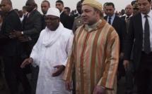 Visite en grande pompe de Mohammed VI au Mali