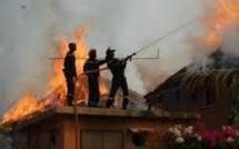 Incendie à Kaolack : trois enfants consumés par le feu