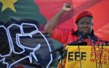 Julius Malema réclame l'arrestation de Jacob Zuma