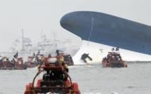Corée du Sud: naufrage d'un ferry avec environ 470 passagers