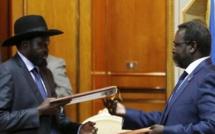 Soudan du Sud: Riek Machar et Salva Kiir signent un accord de paix