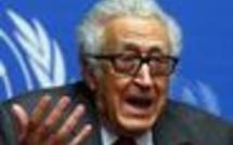 Lakhdar Brahimi, le médiateur de l'ONU en Syrie, jette l'éponge