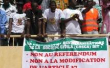 Burkina Faso mobilisation contre la modification de la Constitution