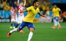 CDM – Brésil 2014 :  Neymar inscrit son 33e but avec les « Auriverde » et rejoint Ronaldinho
