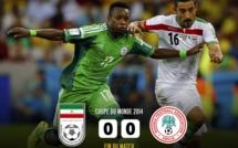 CDM 2014: Iran-Nigéria (0-0): Les Super Eagles ont volé bas, très bas même