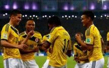 CDM 2014 : La Colombie bat l'Uruguay (2-0) et se qualifie pour le 1er quart de son histoire