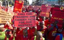 Afrique du Sud: les tractations se poursuivent en ce 9e jour de grève