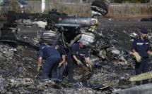 Ukraine: arrivée des familles des victimes sur le site du MH17