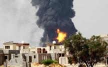 Libye: l'incendie des réservoirs de carburant est «hors de contrôle»