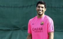 Vidéo : Les premières images de Suarez  à l'entraînement avec le Barca