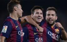 Liga : le Barca et Messi reprennent du bon pied