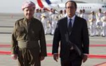 François Hollande promet en Irak plus d'aide militaire