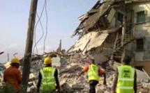 Nigeria: effondrement d'un immeuble