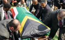 Inhumation de Nat Naksa, journaliste exilé, martyr de l'apartheid