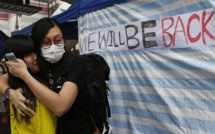 Hong Kong: la police procède à l'évacuation du principal site occupé