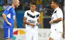 Ronaldo, Zidane et Drogba vont jouer chez les Verts