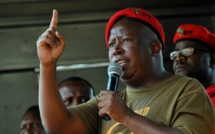 Marikana: Julius Malema va porter plainte contre le vice-président