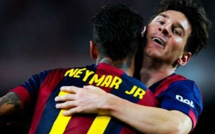"Barça, Neymar :""Je n'essaie pas de surpasser Messi"""