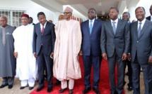 Burkina Faso: Macky Sall, Boni Yayi, Faure Gnassingbé et Muhammadu Buhari à Ouagadougou