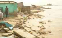 Erosion côtière: Dakar, Kaolack,  Saint-Louis et Ziguinchor risquent d'être avalées par les vagues d'ici 2100