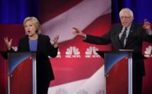 Etats-Unis: débat houleux entre Hillary Clinton et Bernie Sanders