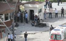 Turquie: attaque à la voiture piégée contre un poste de police de Gazantiep
