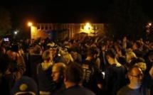 Foot - ANG - Leicester en liesse après le titre de champion d'Angleterre