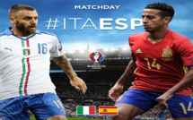 EURO 2016 - Huitièmes de finale : En Direct, Italie 2 - 0 Espagne