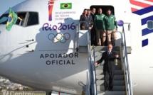La torche olympique est arrivée à Sao Paulo