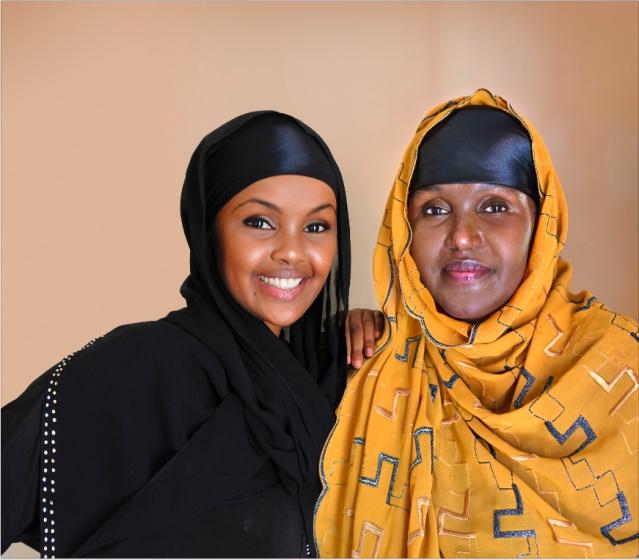 Mme Fartuun Adan et Mme Ilwad Elman, fondatrices du centre Elman pour la paix et les droits de l'Homme,